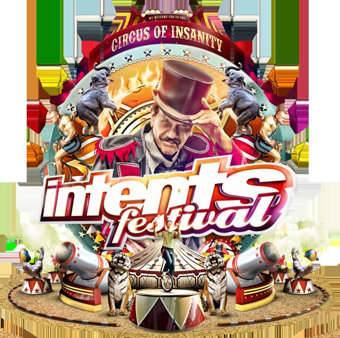 Logo van Intents Festival, een festival waarbij Tubtoyou mobiele hottubs heeft begeleid